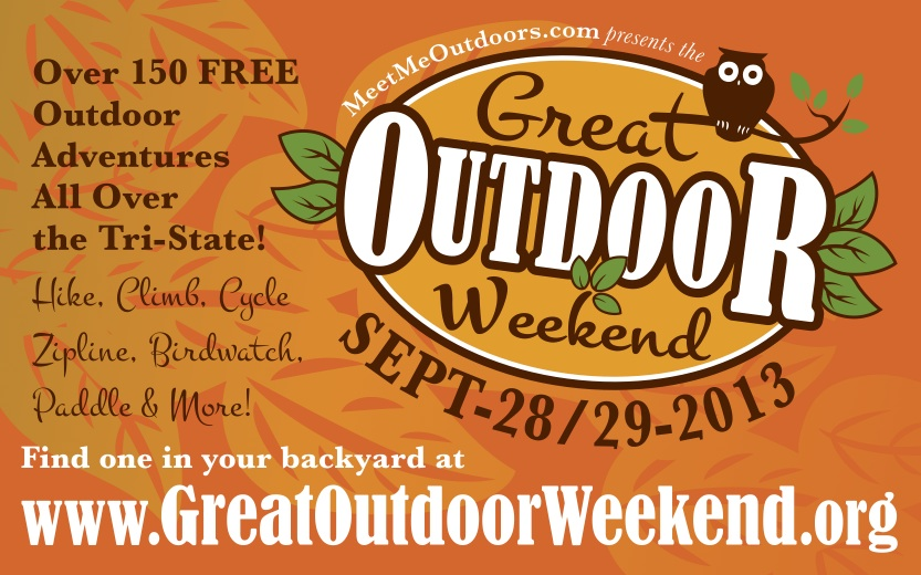 Great Outdoor Weekend web ad, e-blast format.