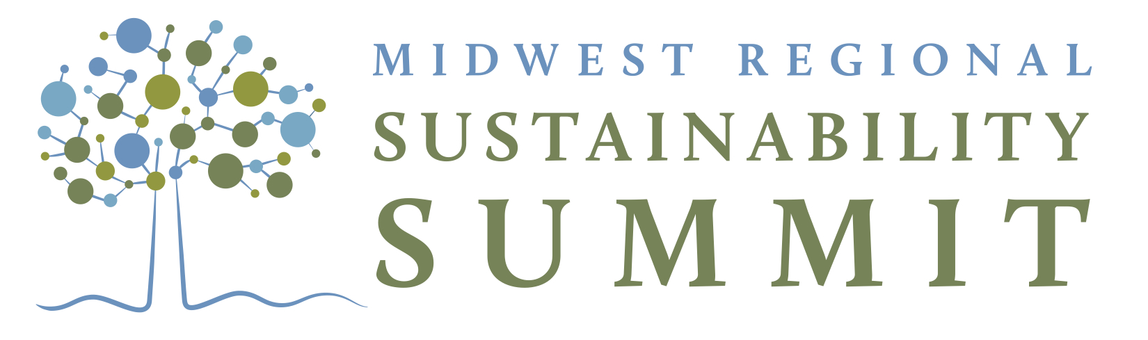 Midwest Regional Sustainability Summit 4-color logotype.