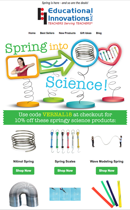 Sale Email Send - Vernal Equinox Spring Sale