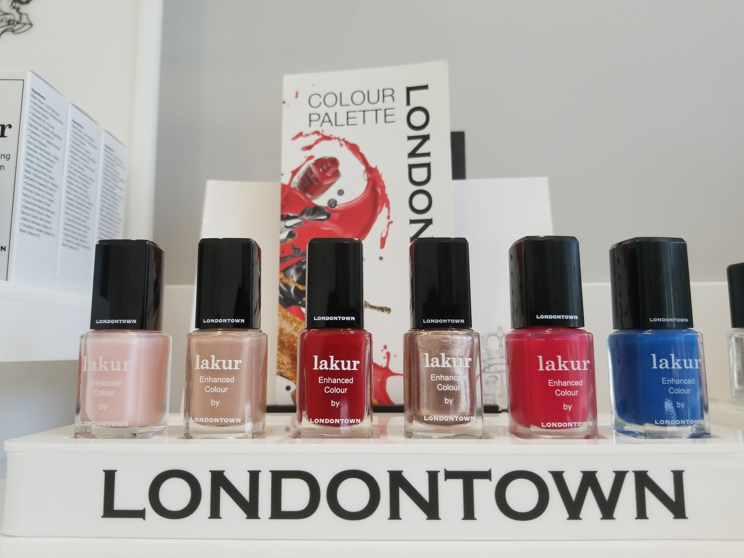 Vivi's top picks (from l to r): Invisible Crown, The Full Monty, Vendetta, Kissed by Rose Gold, Guilty Pleasure and Paddington Blue.