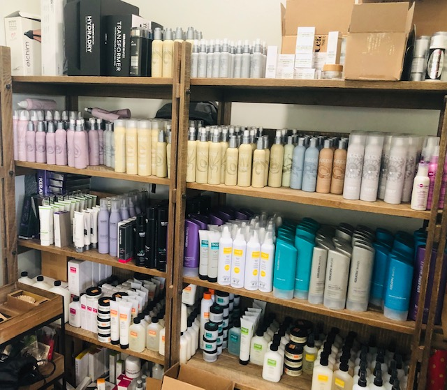 Here are some (not all!) of our beauty closet samples for editors, bloggers and influencers! If you are are beauty junkie like me, this is heaven! #loveourclients