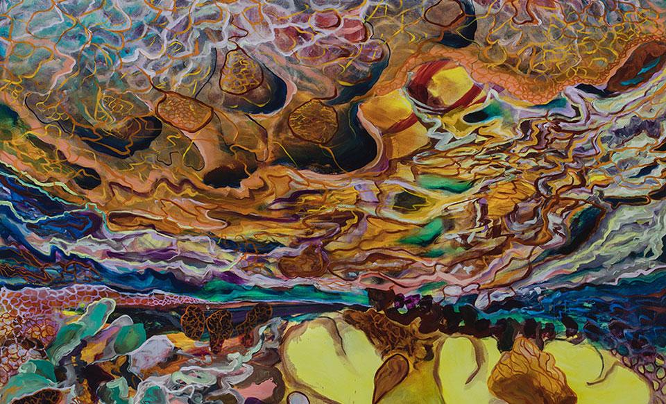My Territory, oil on canvas, 165x230 cm.Photo Angelo Plantamura