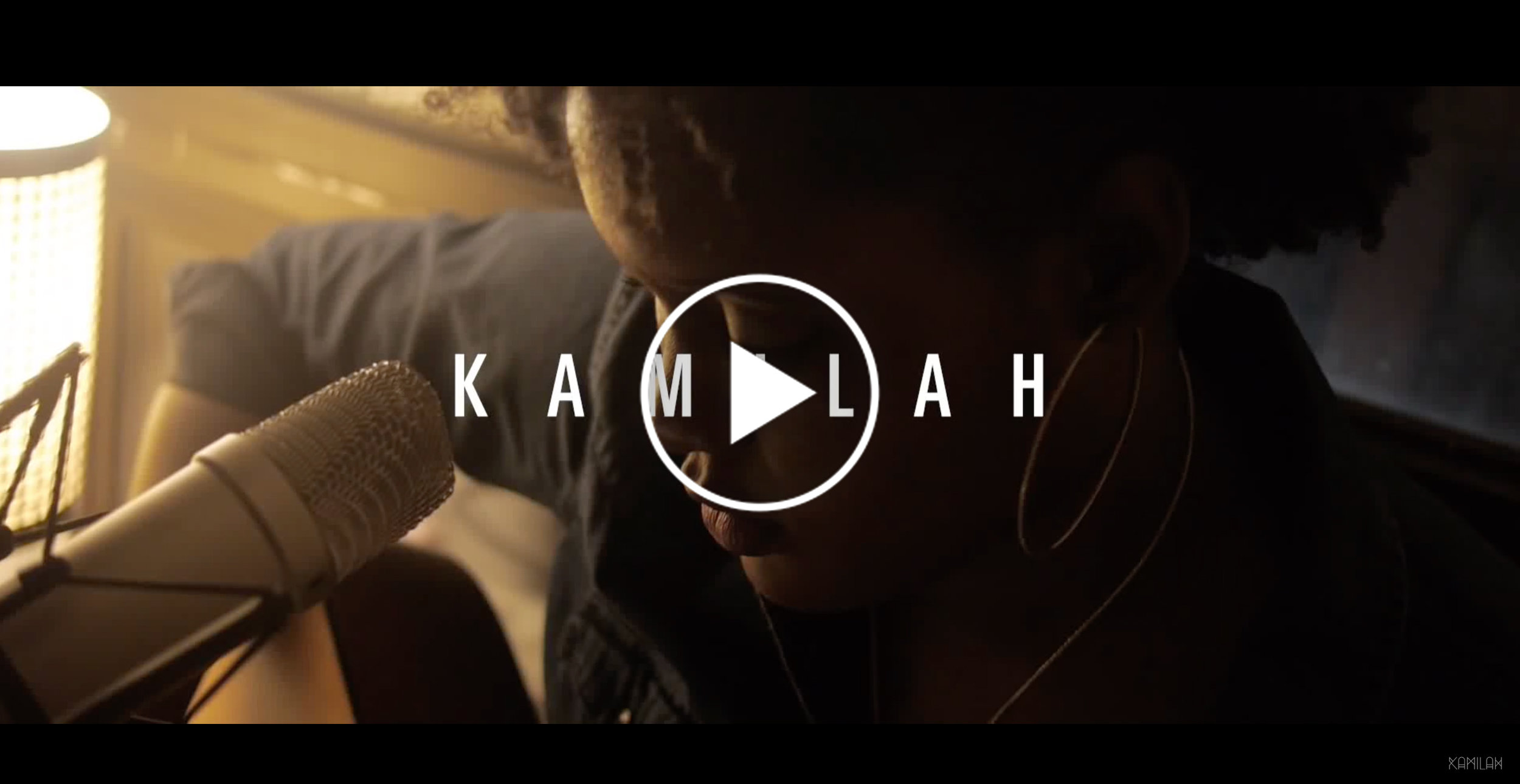 Original song  '1600 Miles' written and performed by Kamilah Gibson.