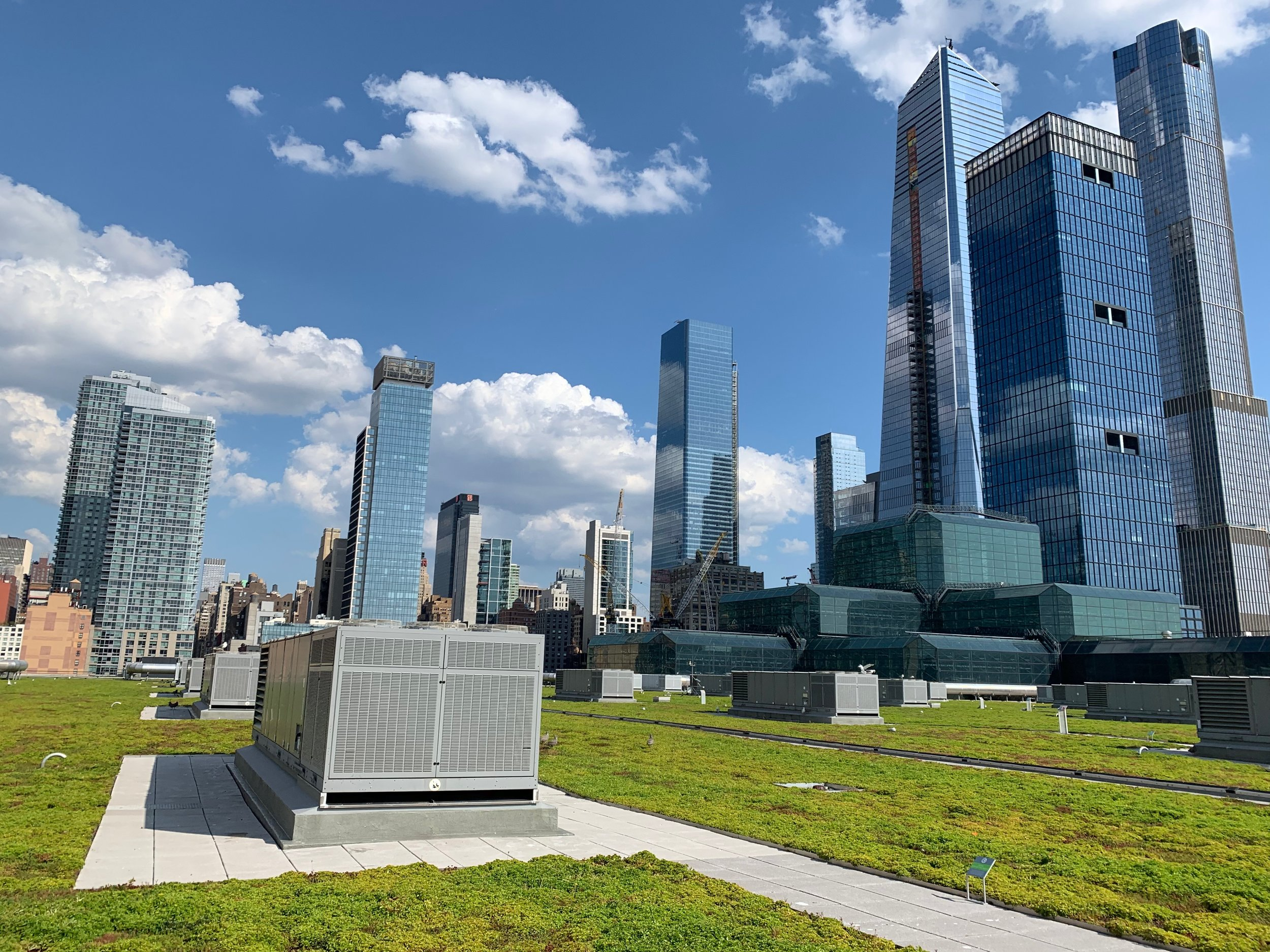 THE JAVITS CENTER'S GREEN ROOF IS THE SECOND LARGEST IN THE U.S.