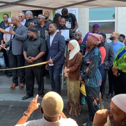 SEPTEMBER 2019 RIBBON CUTTING CEREMONY, CELEBRATING THE IMAN COHORT AND THEIR NEWEST PROJECT.