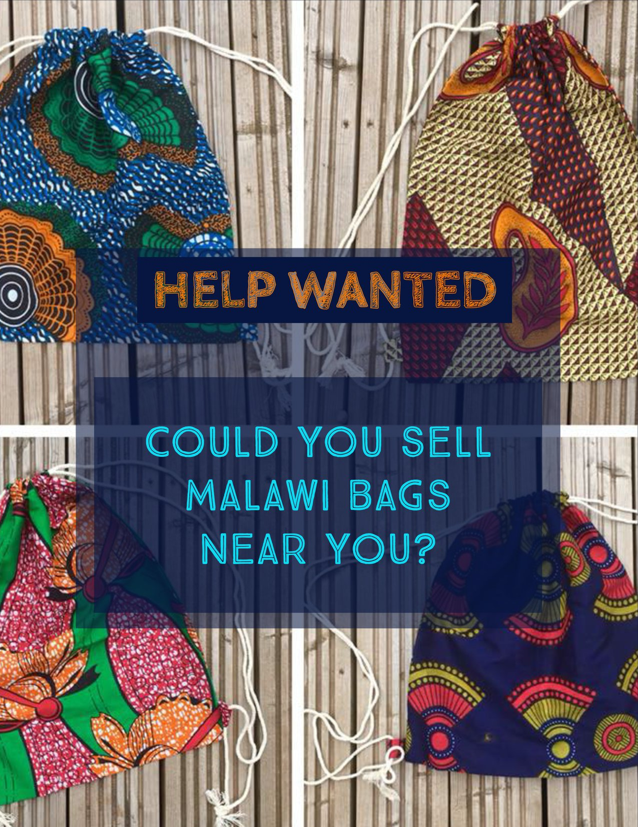 Beautiful handcrafted bags from Malawi - The Mbedza Community Crafts Project began in 2008 as an attempt to provide a source of income for women in and around Mbulukuta village. The ladies produce a bag using local chitenje materials. More recently, we have added other items which include aprons, place mats and a sanitary product for girls. This project also provides work for a craftsmen who makes the carved animals that adorn the bags to provide women in the area around Mbulukuta village. The ladies use this income to pay for school fees for their sons and daughters, medicine, food and other essentials. Ruth (pictued below with a sewing machine on her head) saved her earnings to buy an Esperanza stove. Seeing this gave us the idea for the stove project.