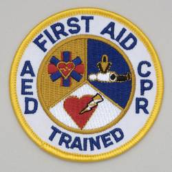 First Aid/CPR/AED - The Adult First Aid/CPR/AED course teaches students to recognize and care for a variety of first aid emergencies. Successful students will receive a certificate for Adult First Aid/CPR/AED valid for two years.Anyone who just wants CPR/AED can come for the first three hours of the class.