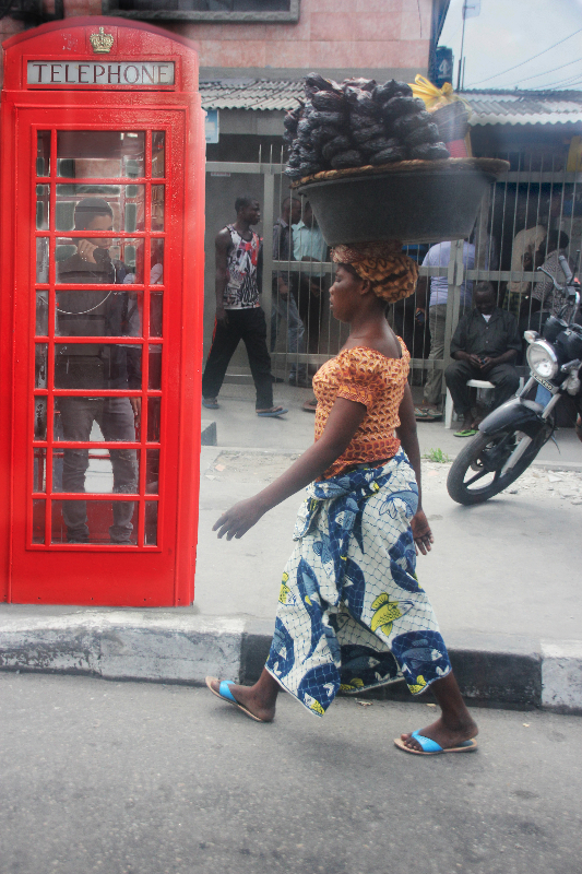 Has The Iconic British Red Telephone Box Always Been On Awolowo Road In Lagos?