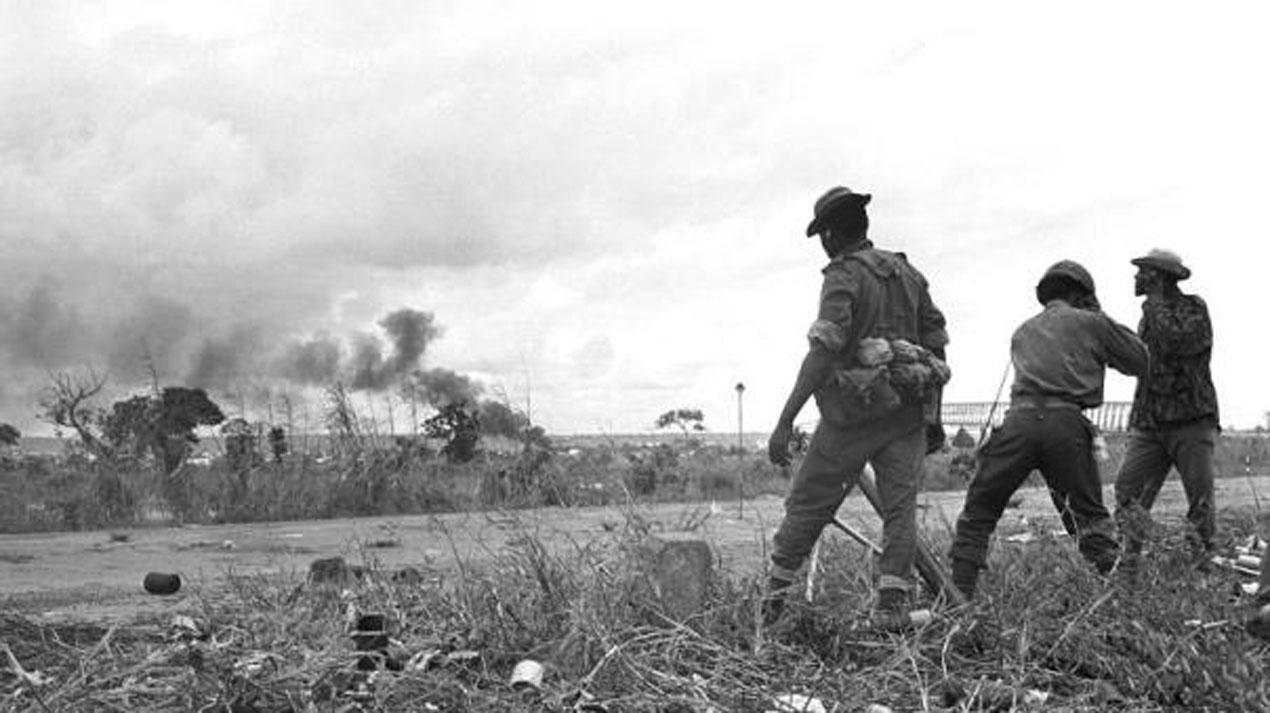 Nigerian Troops In Asaba In 1967