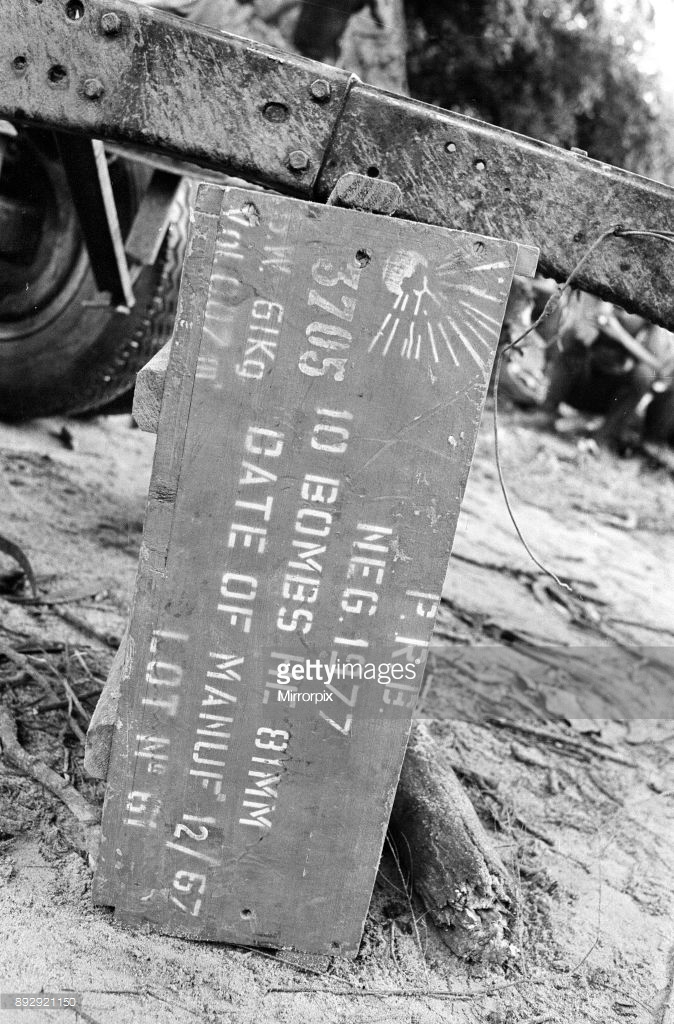 Sign Post In Biafran Region Of Nigeria.