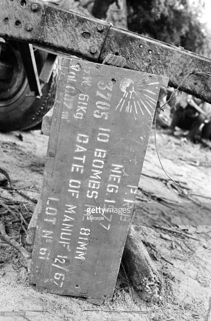 Sign Post In Biafran Region Of Nigeria.