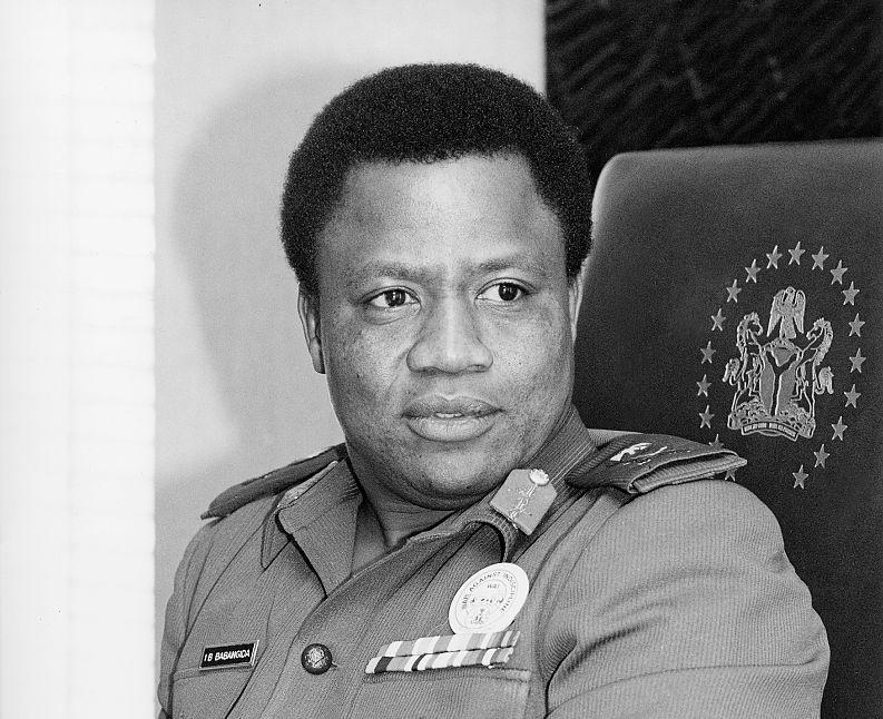Major General Ibrahim Babangida.