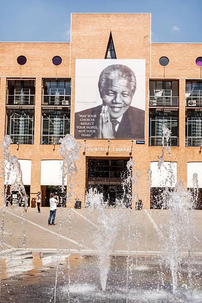 Sandton Library, Nelson Mandela Square