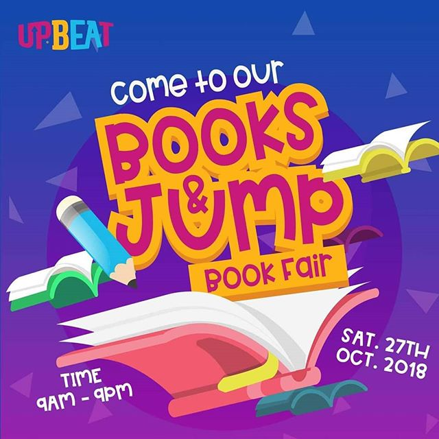 Tomorrow, we'll be at the @upbeatcentre #BookFair, with books for all ages. Come read, jump, and have a great time with us.  Date: Saturday, October 27, 2018 Venue: UpBeat, 11 Admiralty Road, off Admiralty Way, Lekki Phase 1. Time: 9am - 9pm