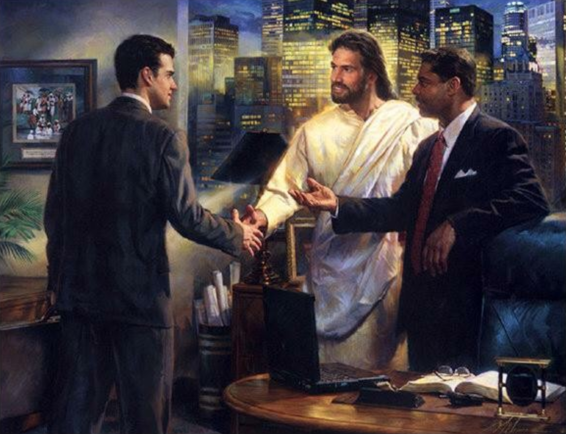 Executive Jesus? Yeah, probably not…unless one of these fellows is about to do some extreme redistribution of wealth.