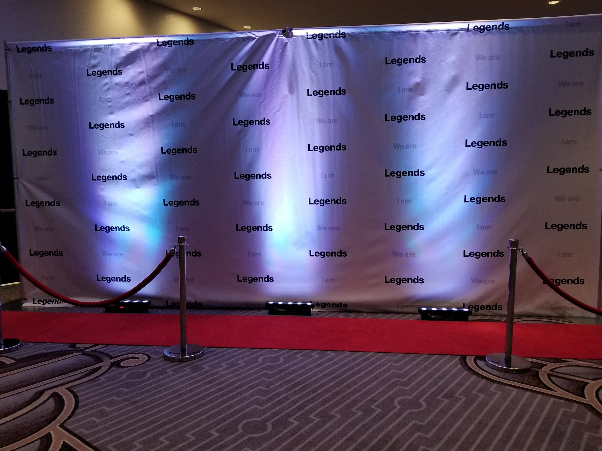 Custom Step and Repeat for events