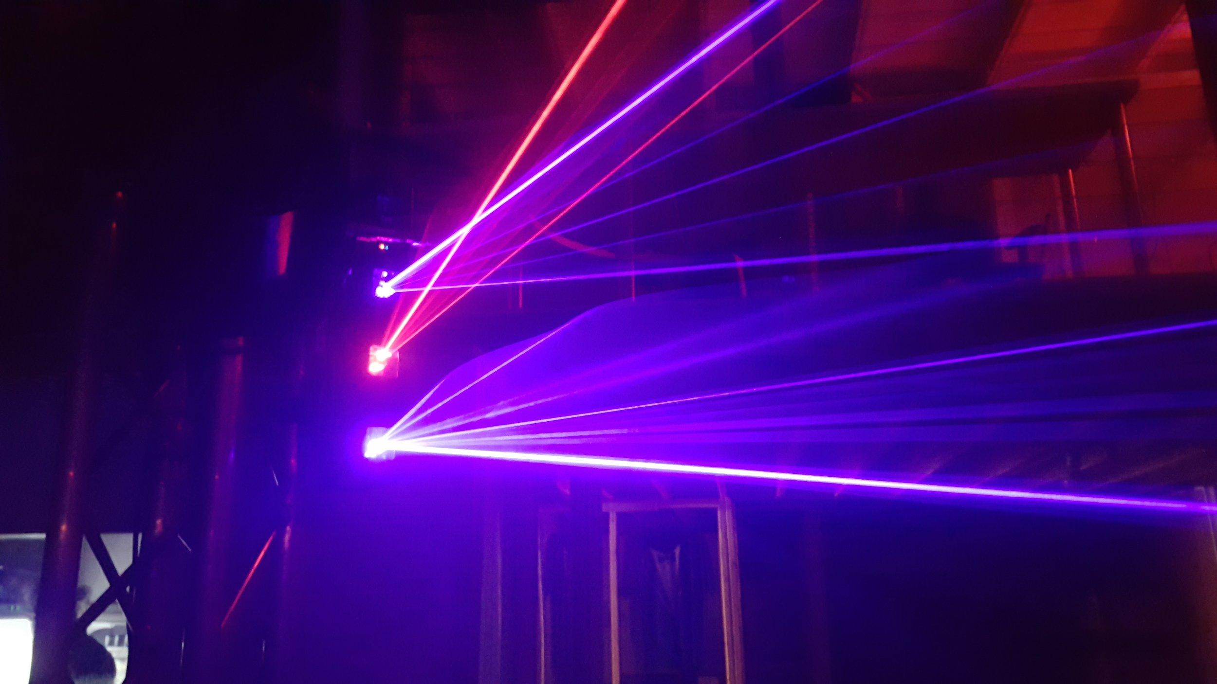Moving Laser Lights for DJ Lighting