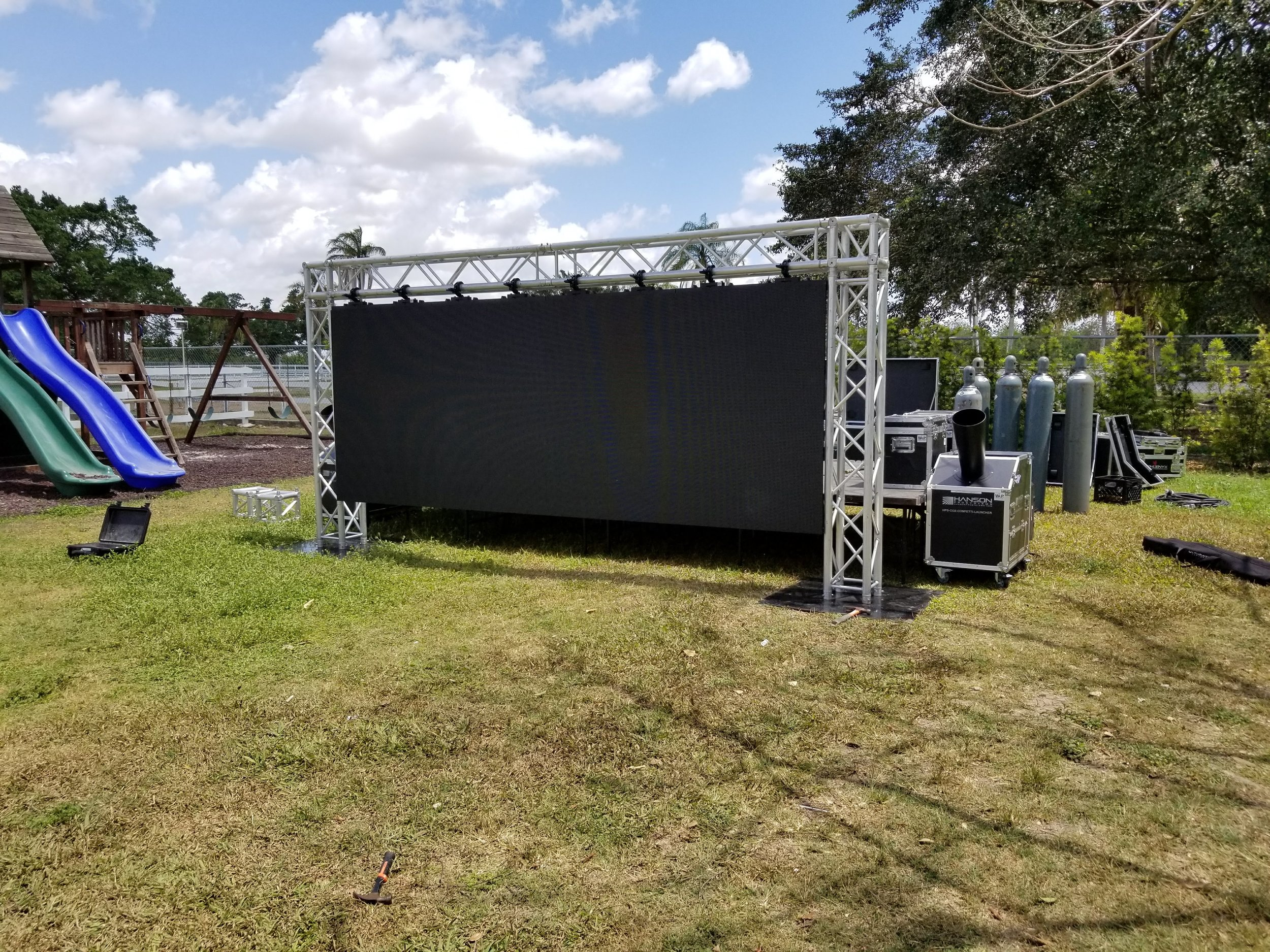 LED Video Wall Outdoor Events