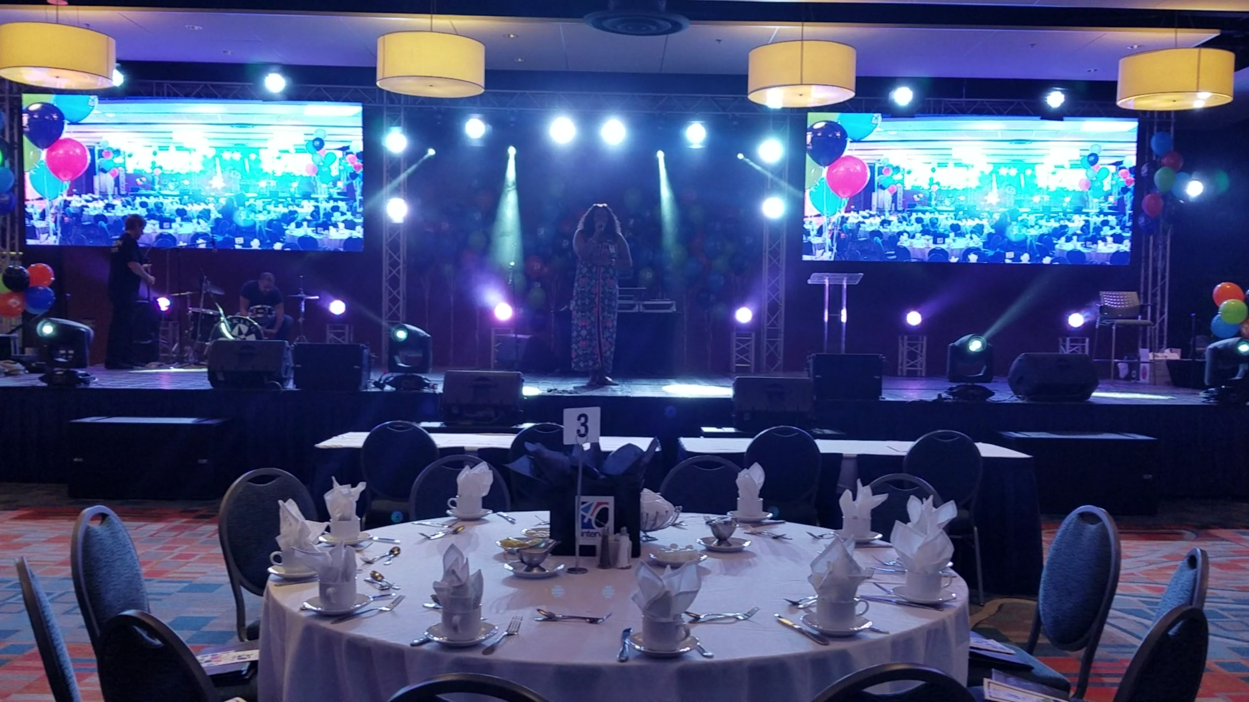 Corporate Events Visual Projection