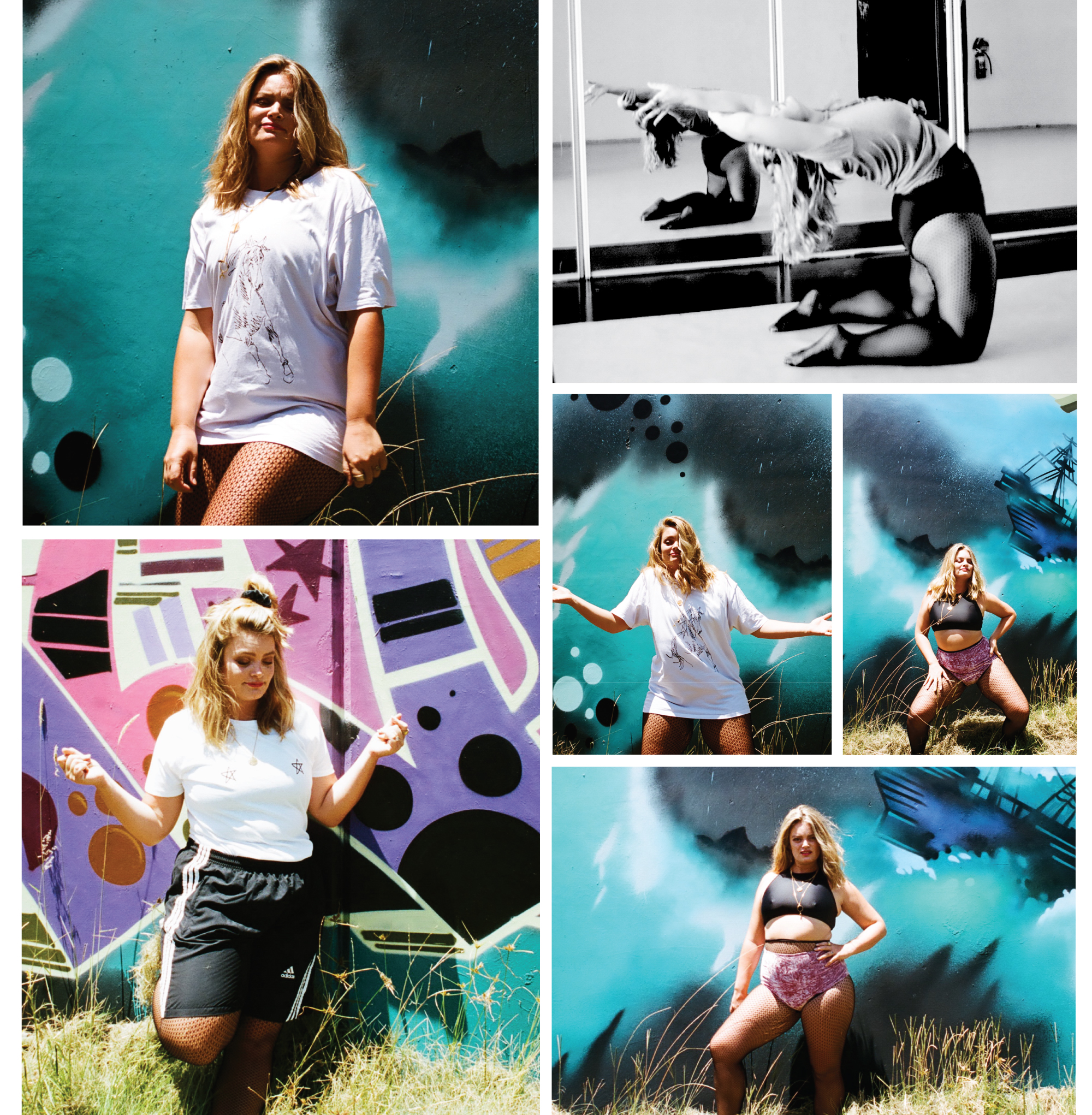 Kyla-Blacksmith-K-Dizzle-Hip-Hop-Jam-That's-My-Jam-Byron-Bay-by-Liar-the-Label-grafitti-lilac-horse-tee.jpg