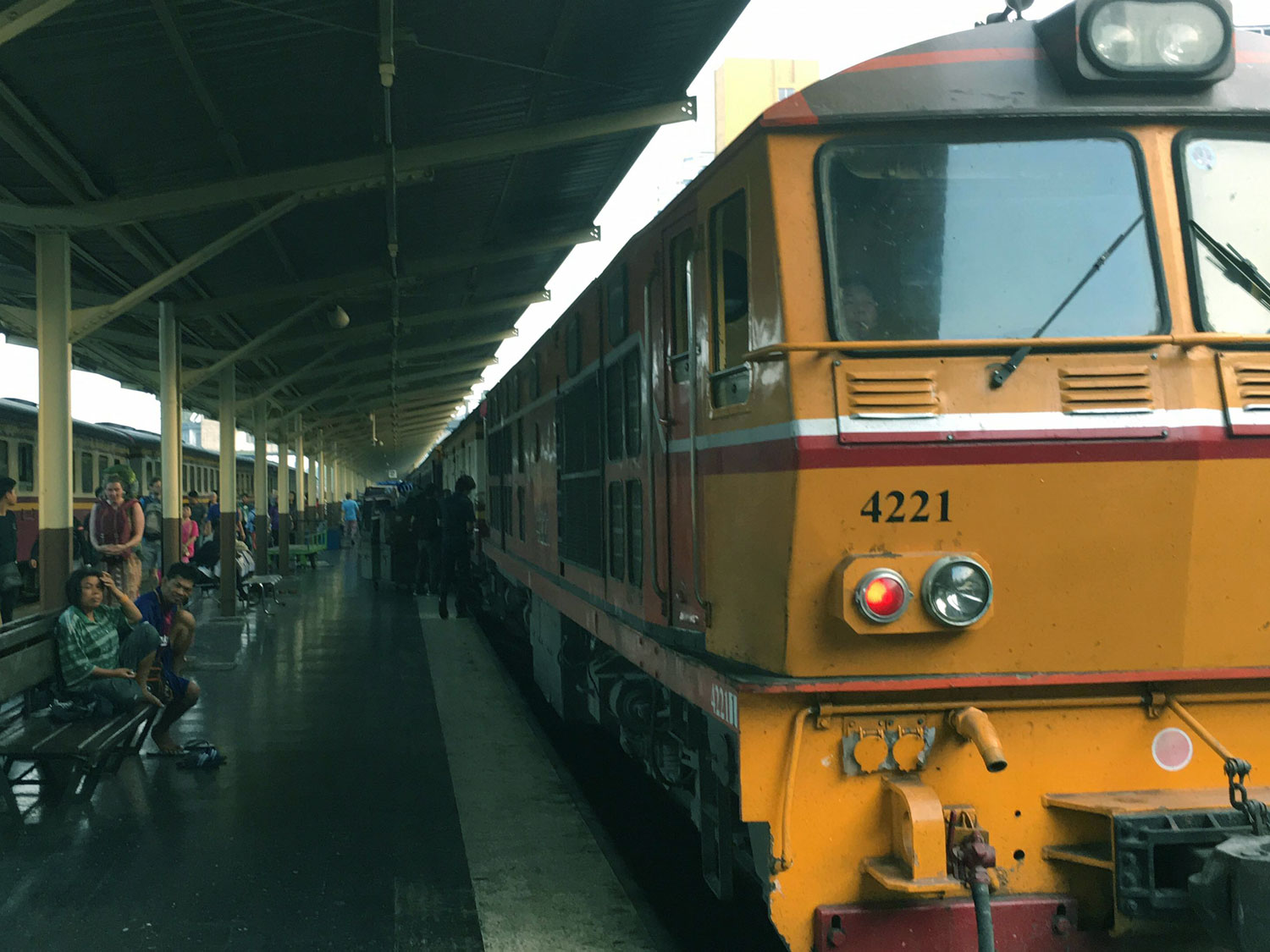 Catch the overnight sleeper train to Bangkok