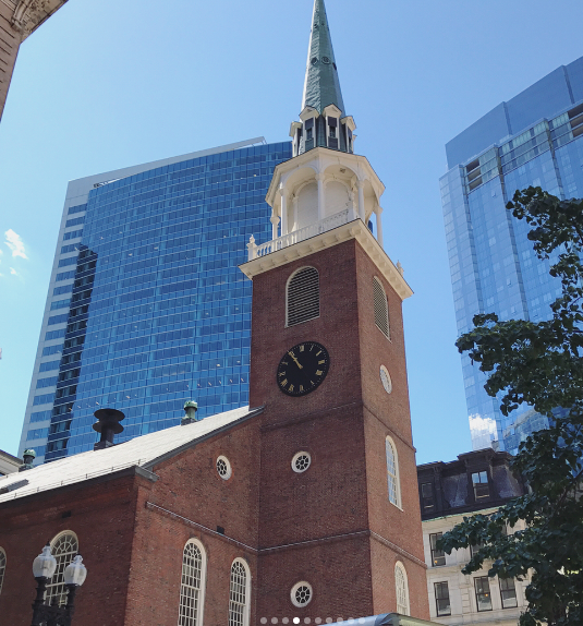 Boston Old South Meeting house Museum Freedom Trail