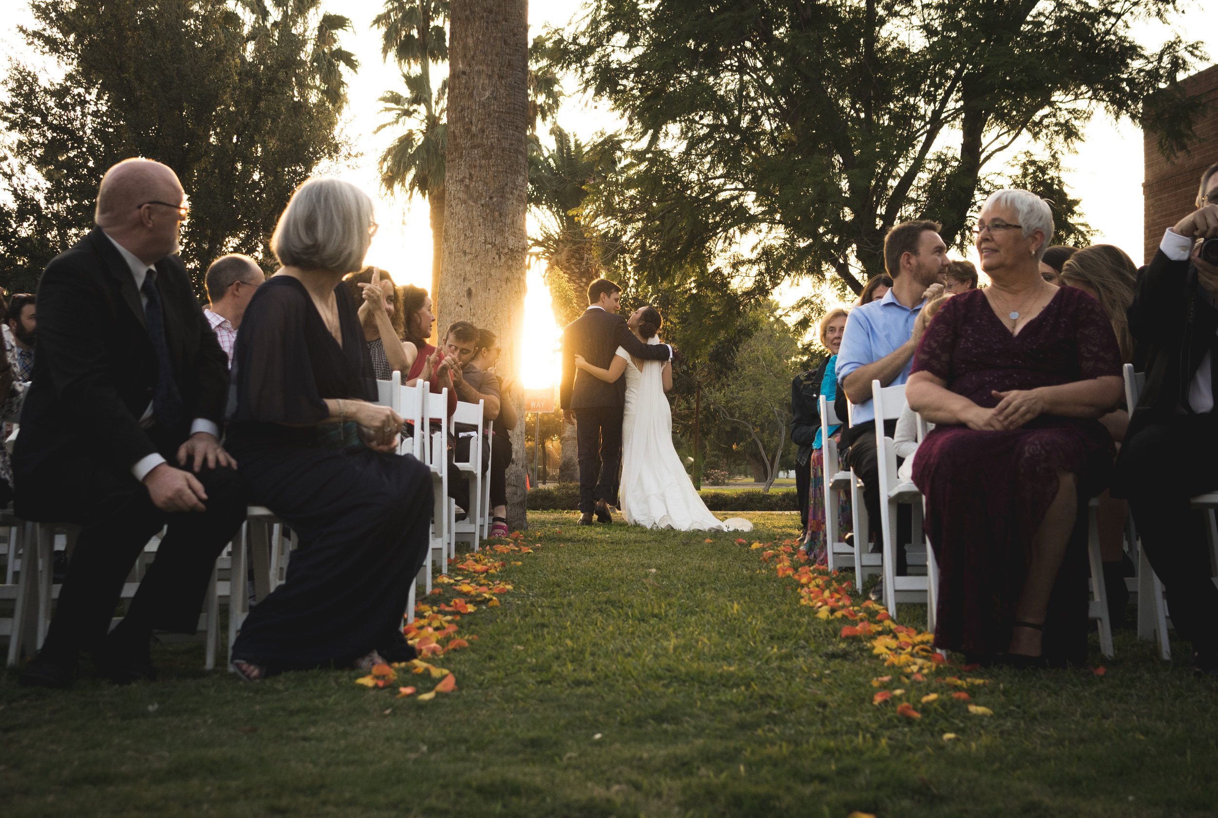 arizona wedding encanto park az phoenix wedding fall autumn