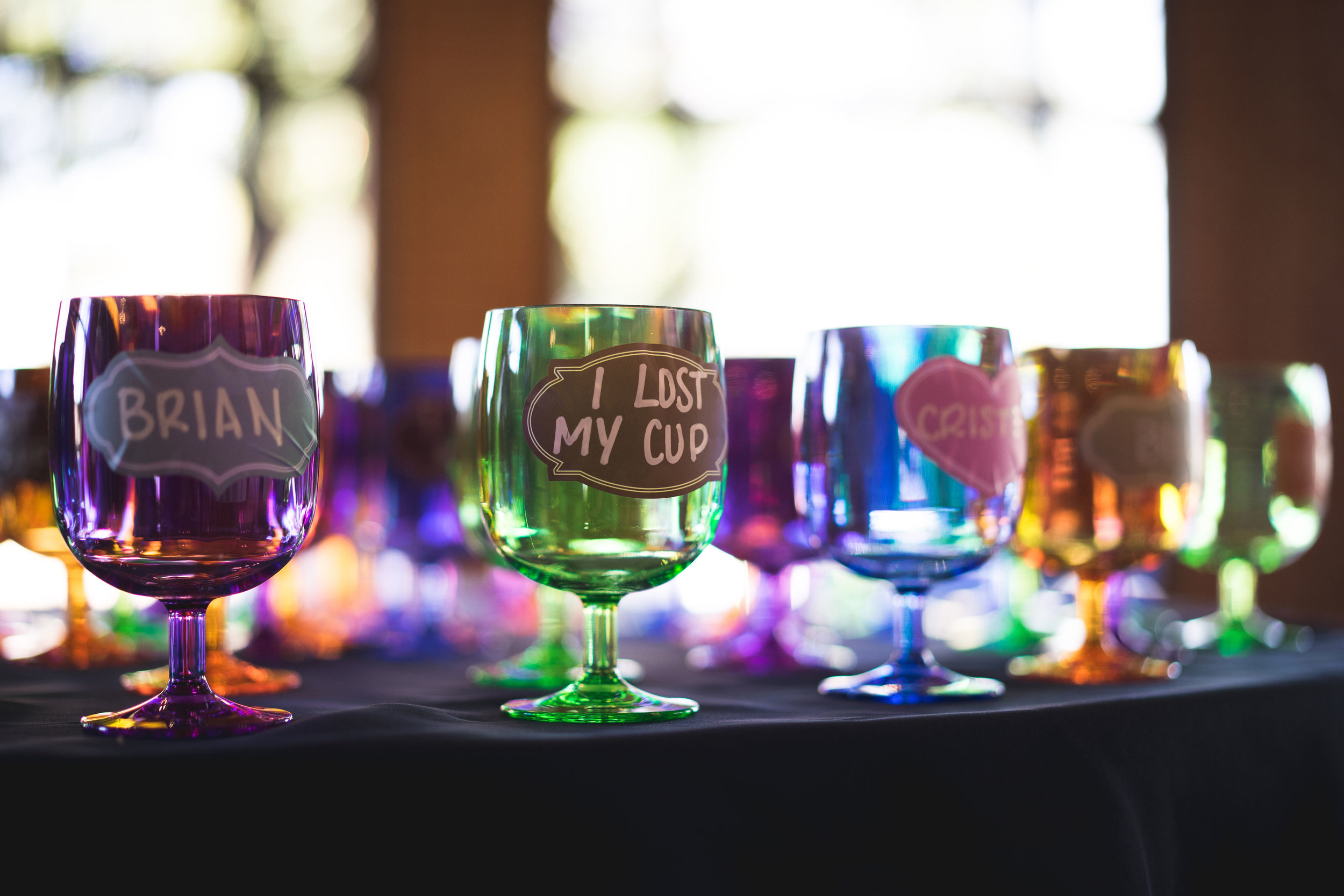 find your cup for the night wedding cup favors wedding ideas budget
