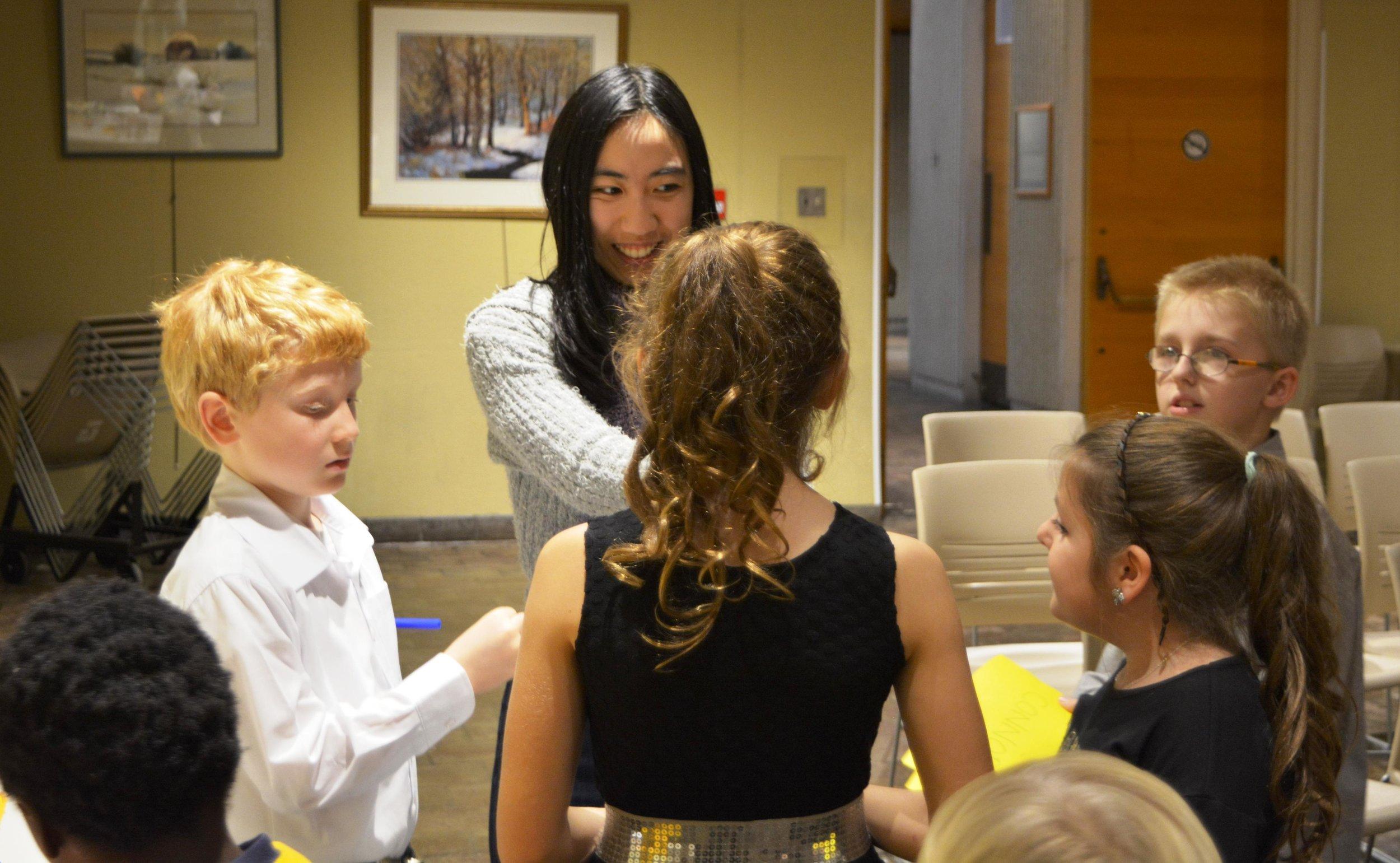 Faith Lau Suzuki Niagara Violin Teacher