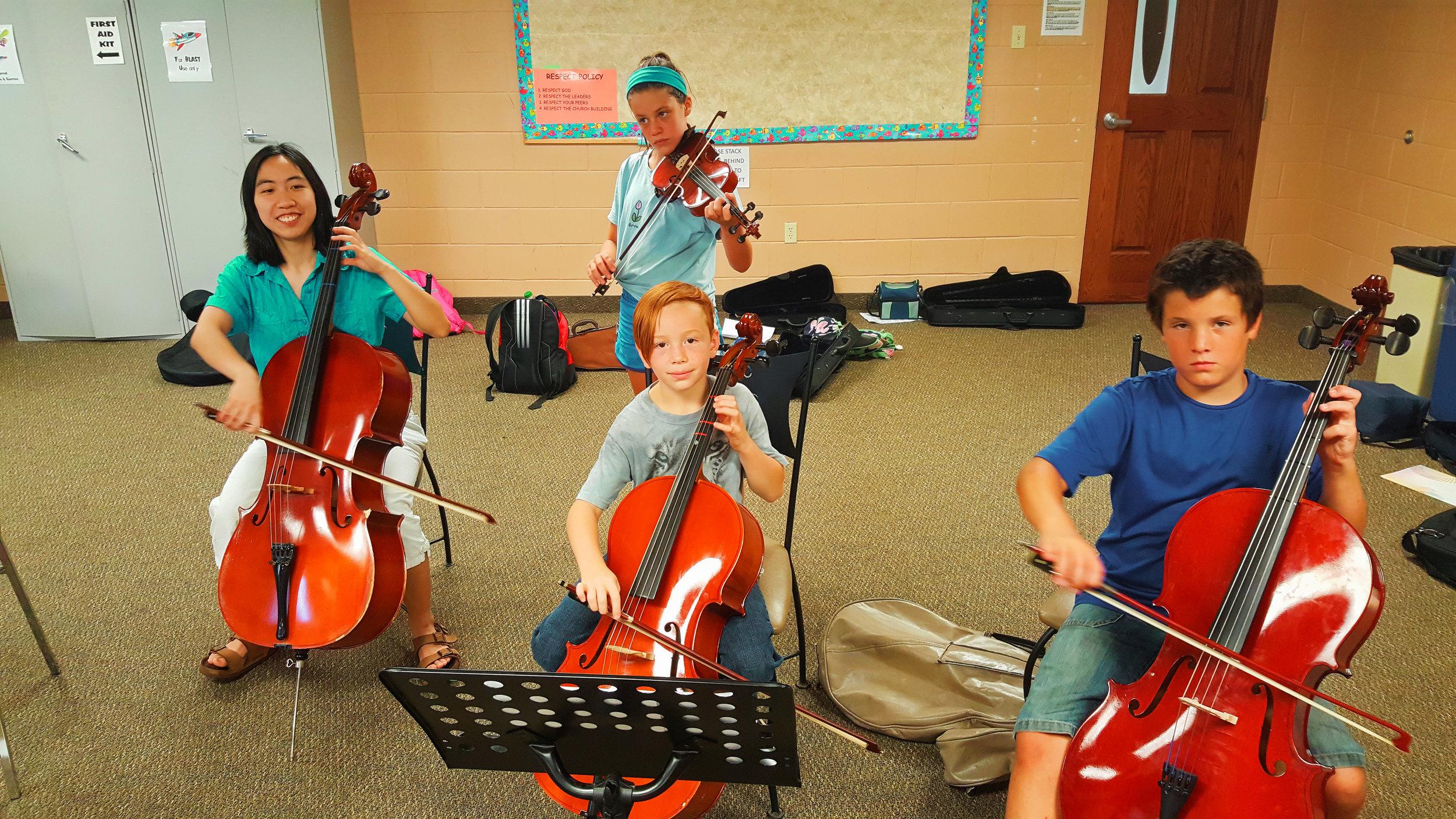 Suzuki Niagara Cello Summer Camp