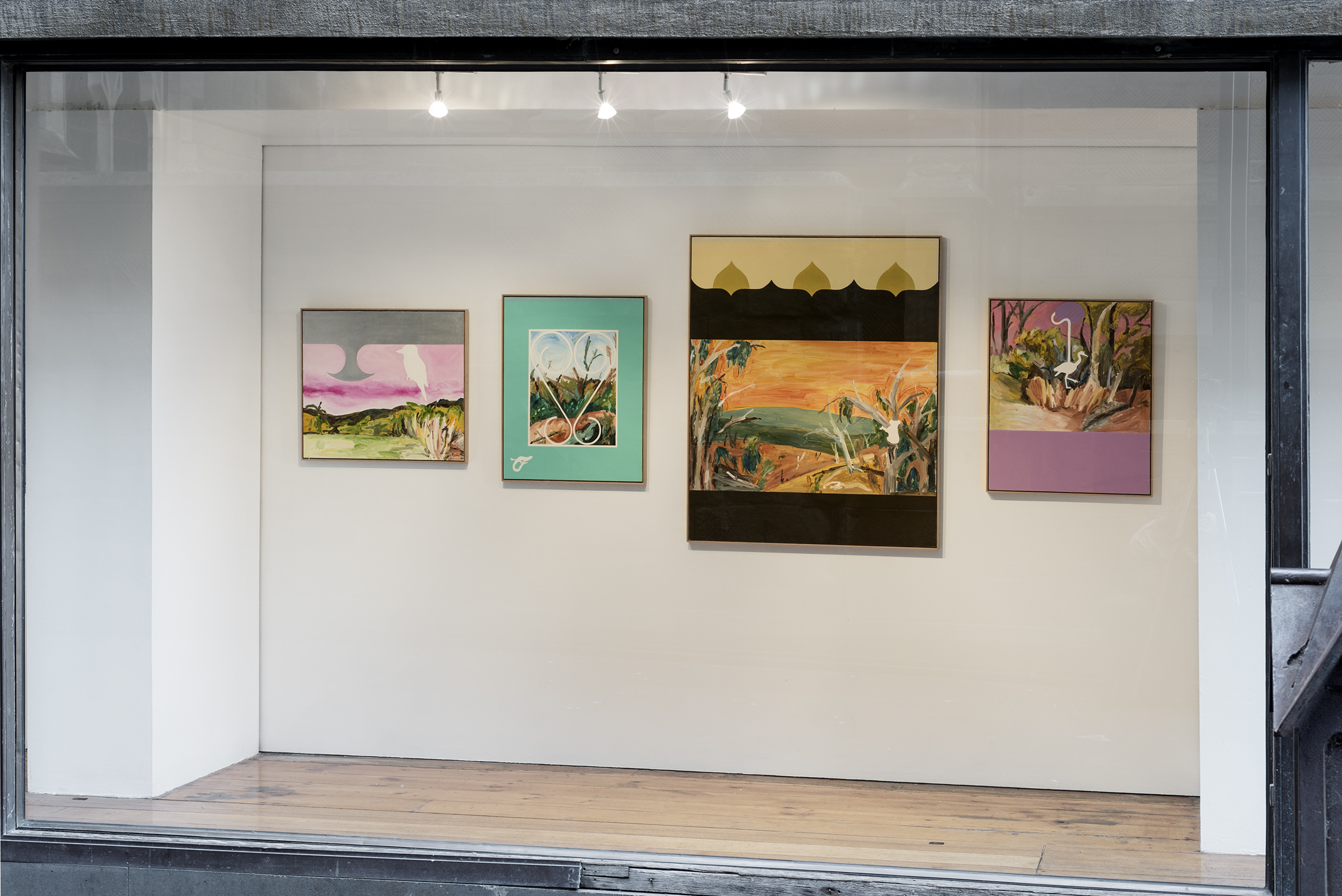 Install photos by Aaron Claringbold