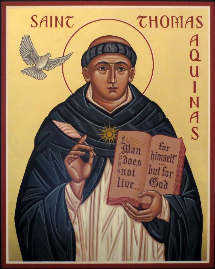 <h3>St Thomas Aquinas</h3>