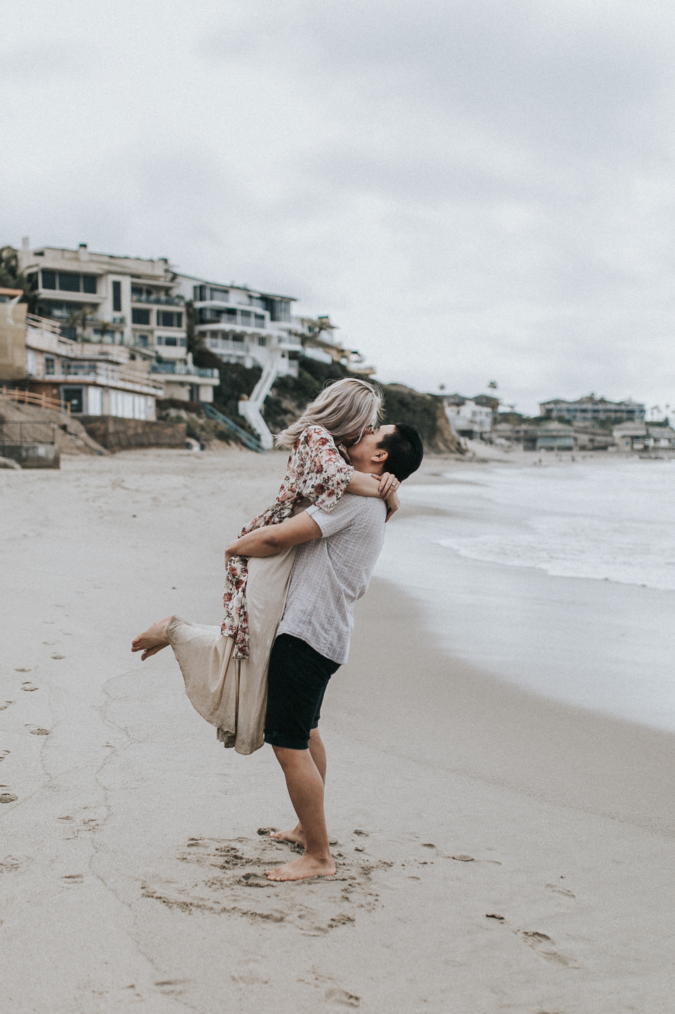 Victoria Beach - Gloria and Jon