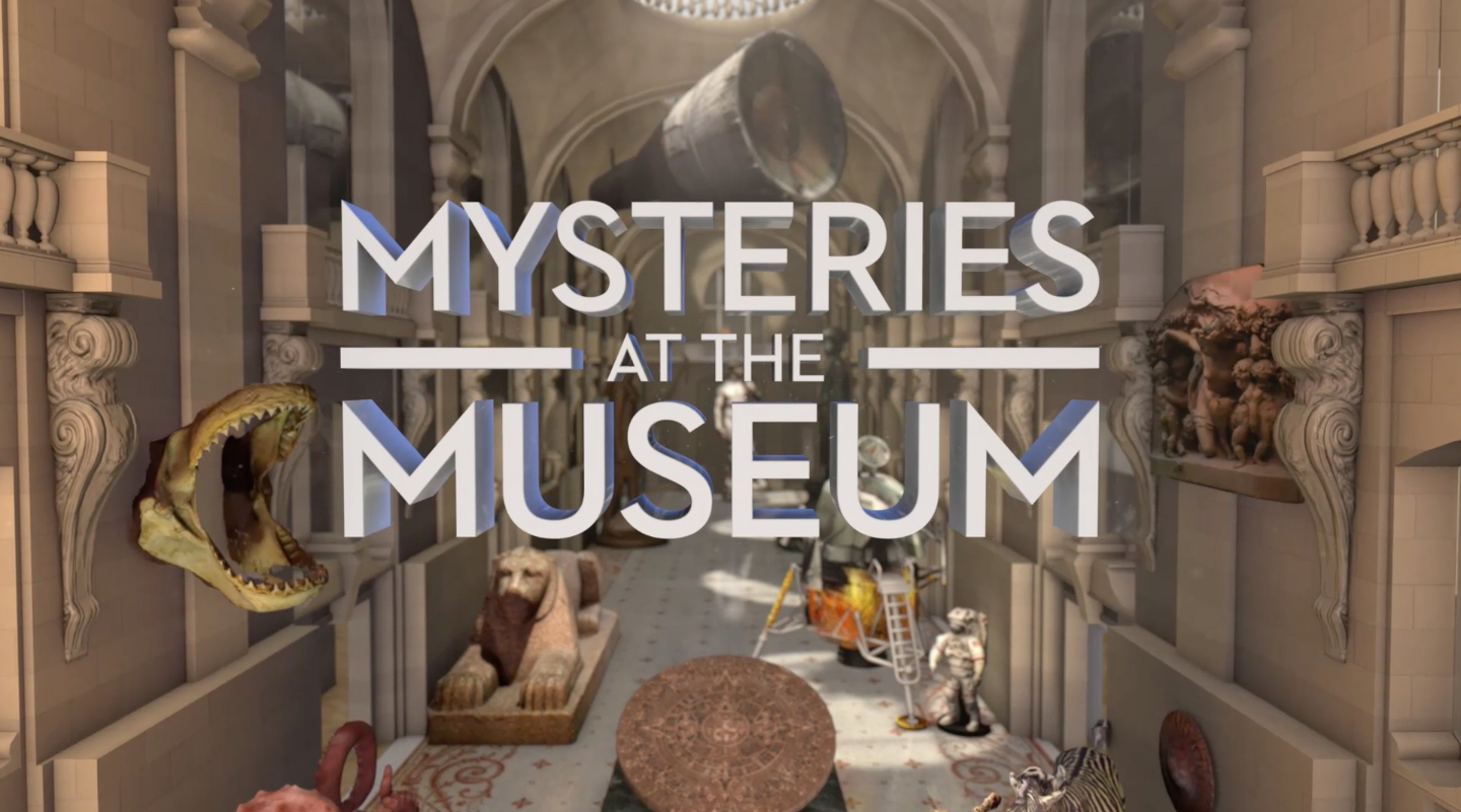Mysteries at the Museum<br><br>Travel Channel<br><i>2010-Present — 12 Seasons + Specials, 168 episodes</i>