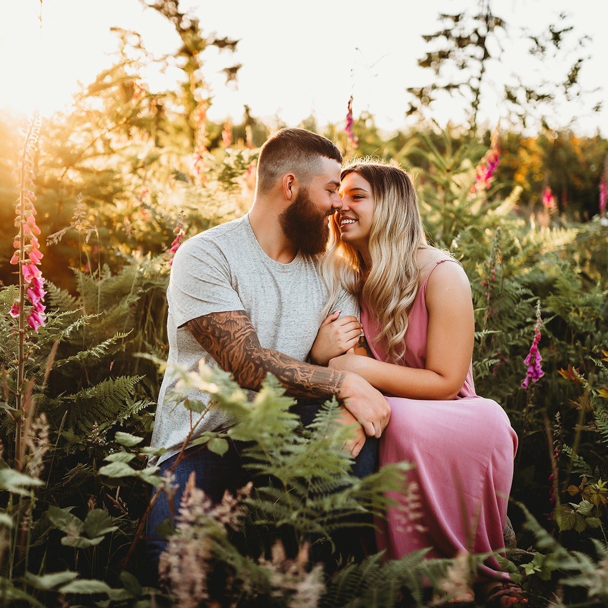 Brittingham Photography Engagement Couples Shoot Orting Puyallup Tacoma Sumner Seattle Washington 3.jpg