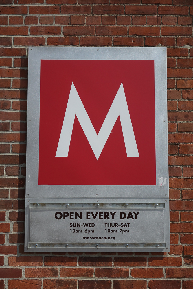 Lickety Split at Mass MoCA closed on Tuesday
