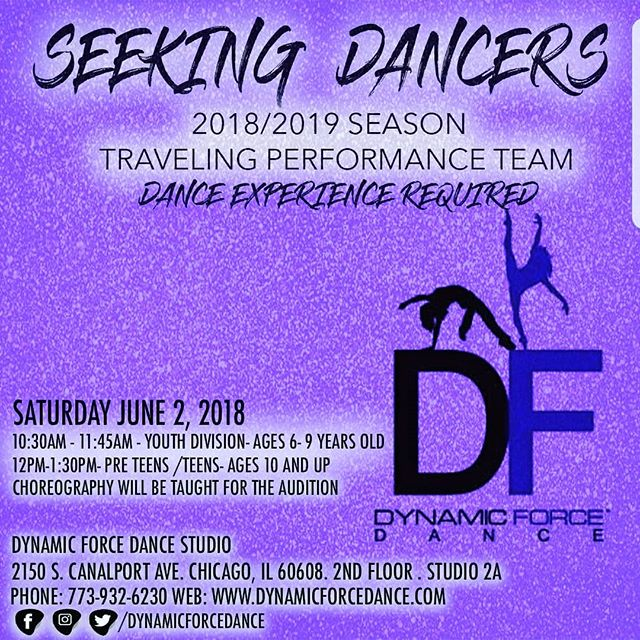 Heeeyyyy!! Yes ,YOU! We would love to have apart of our DF family!! Save the date! Xoxoxo!  #chicagodance #chicagomom #childrenwhodance #teens#youth #preteens#danceaudition# CHICAGO  #chicagodanceclasses#chicago#pilsen #chicagokids#dancemoms #dancecrazy #dancecrazy#travelteam #performanceteam #danceteam#chicagoaudition #danceresource#southloop #hydeparkchicago#allages#alllevels #allstyles #loop#chicagoparents#chicagodancers#