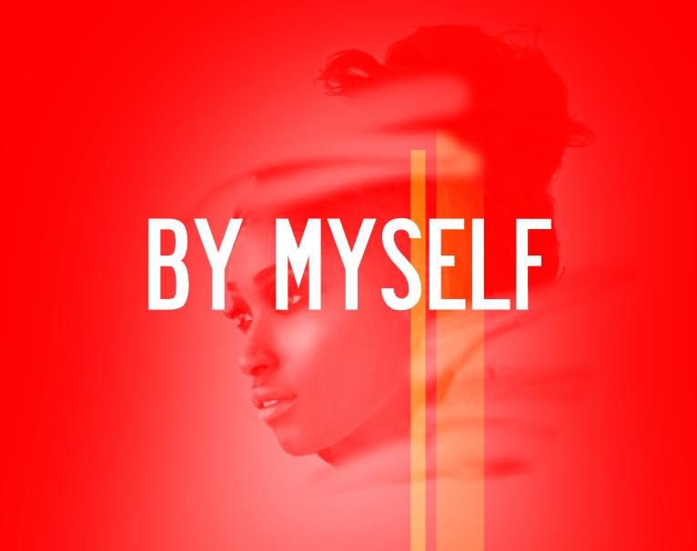 "Sample Cover ""By Myself"" by Natasha Asanté"