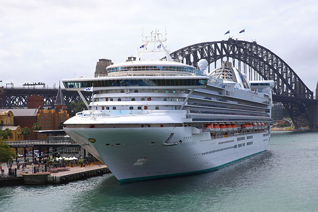 Golden Princess in Sydney