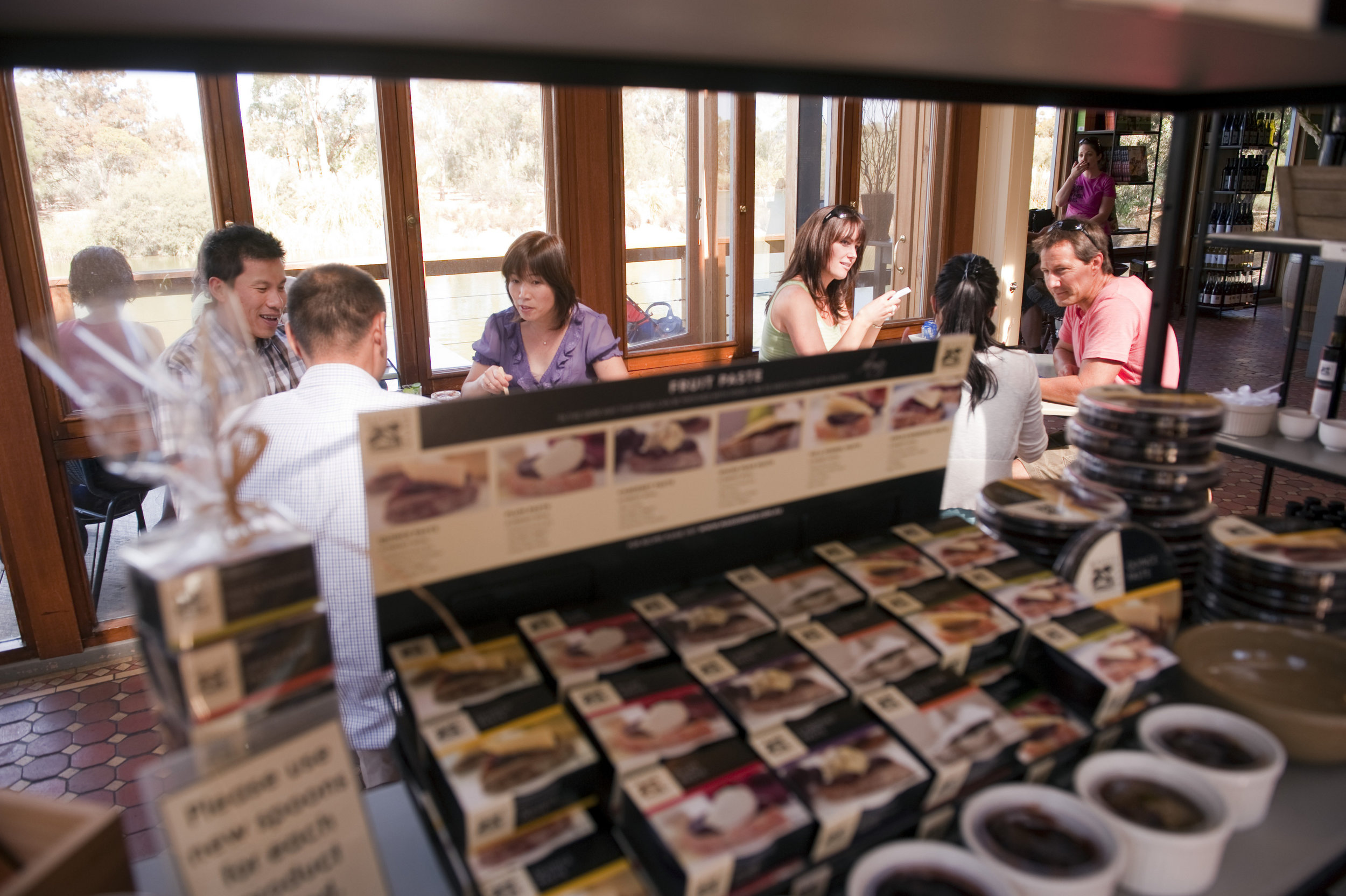 Sample the delicacies at Maggie Beer's Farm Shop