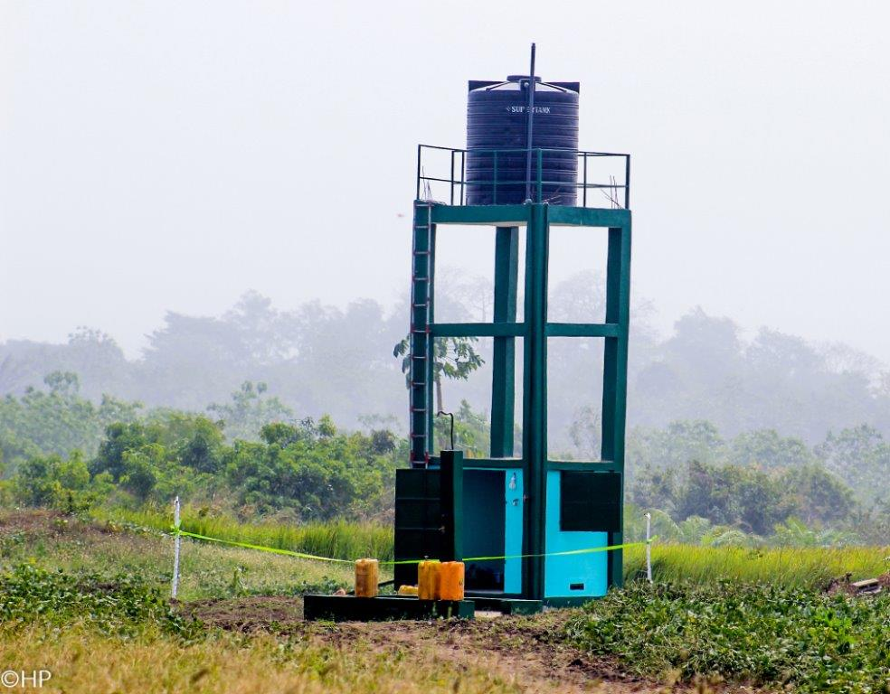 One of the two well systems in the region.