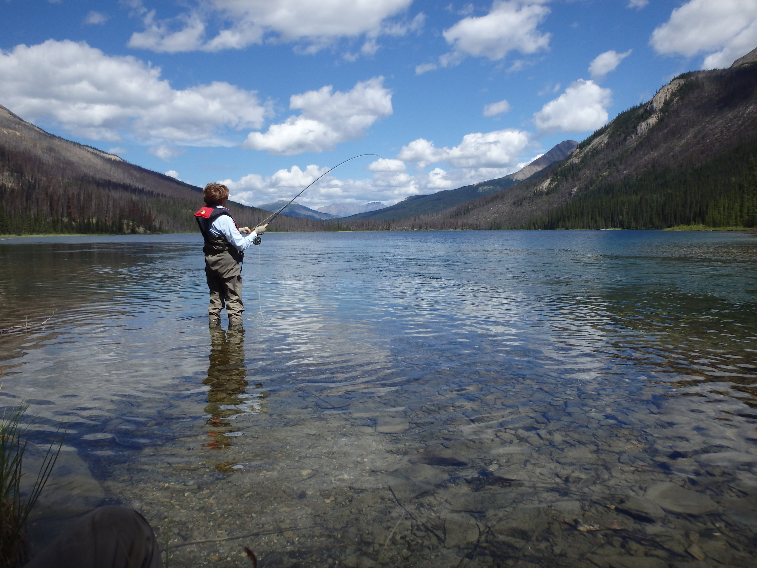 Fly Fishing for Arctic Grayling