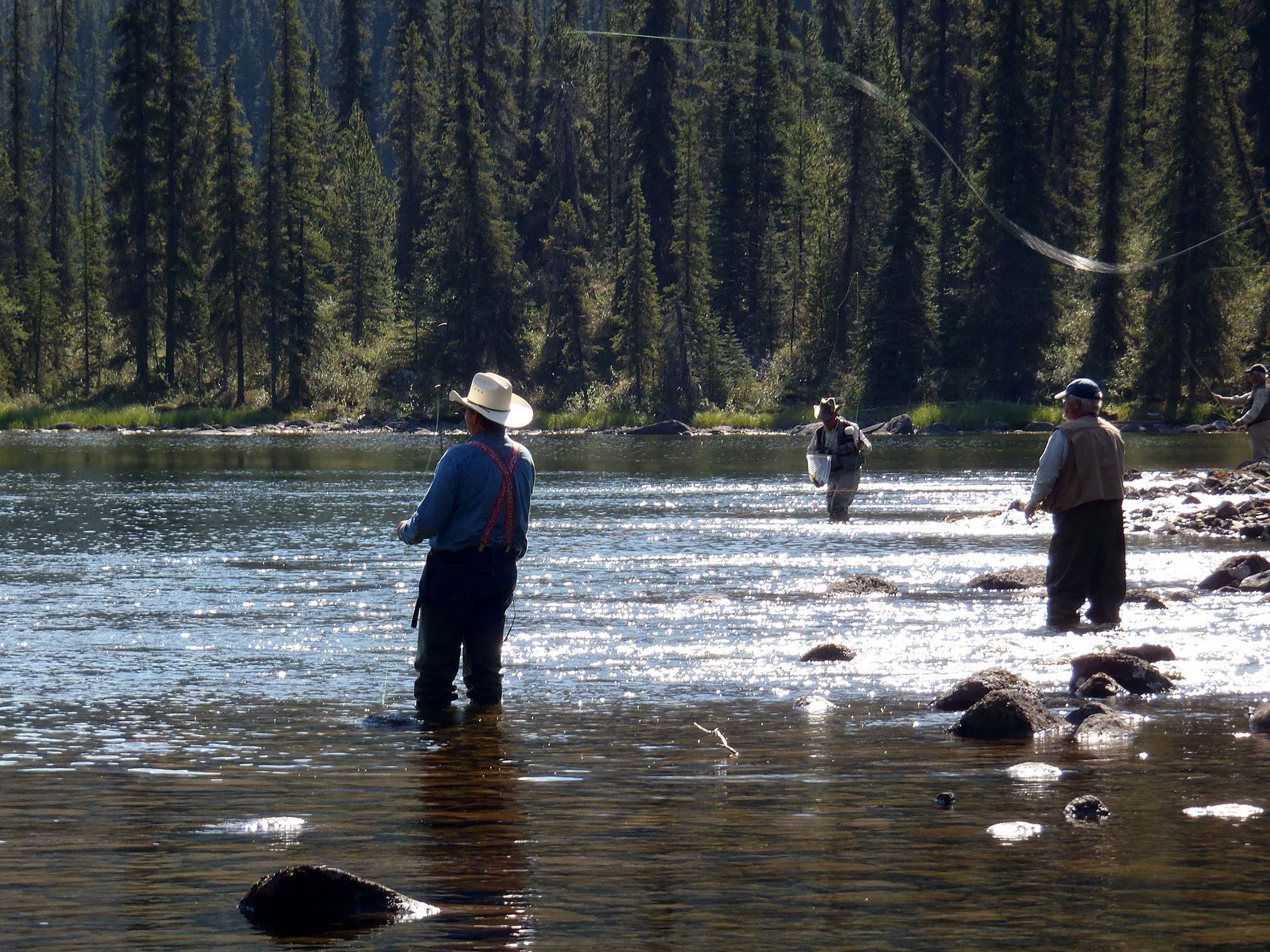 Fly Fishing in beautiful Northern British Columbia
