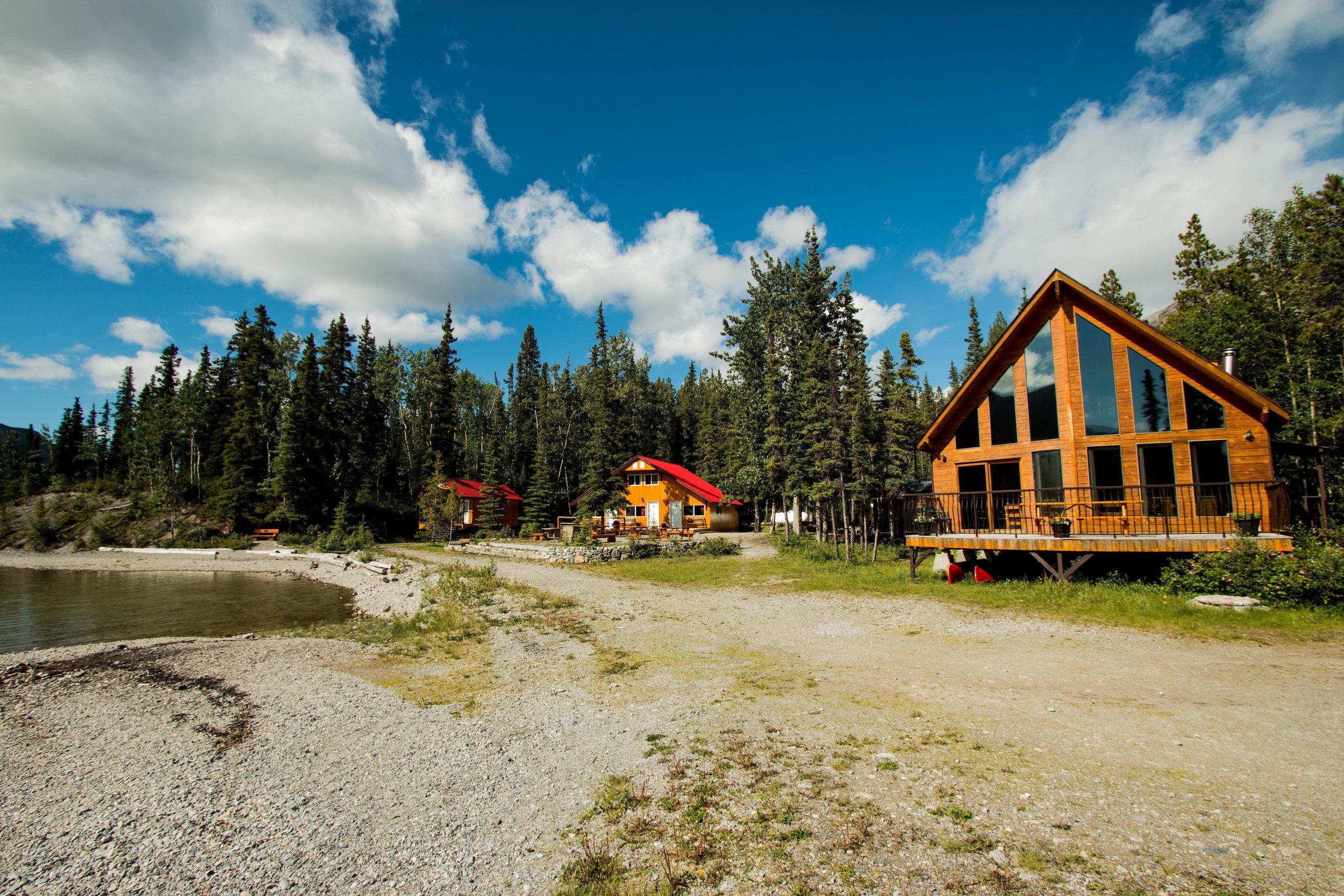 Cedar House and Grants Cabin