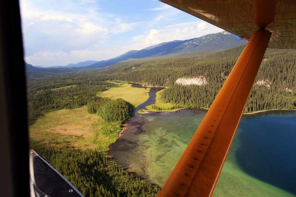 netson lake aerial