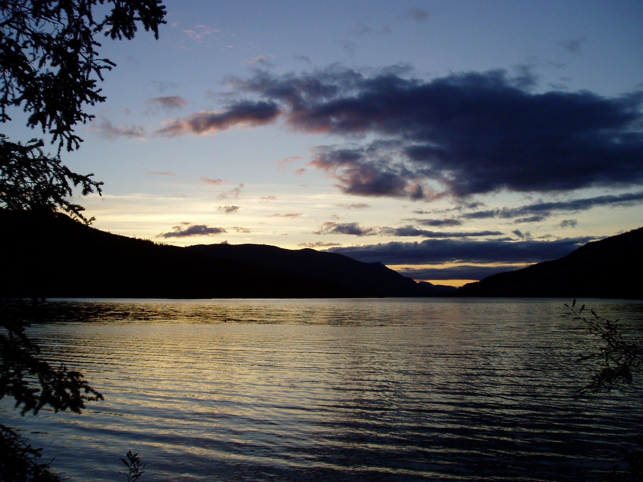 Sunset at Netson lake