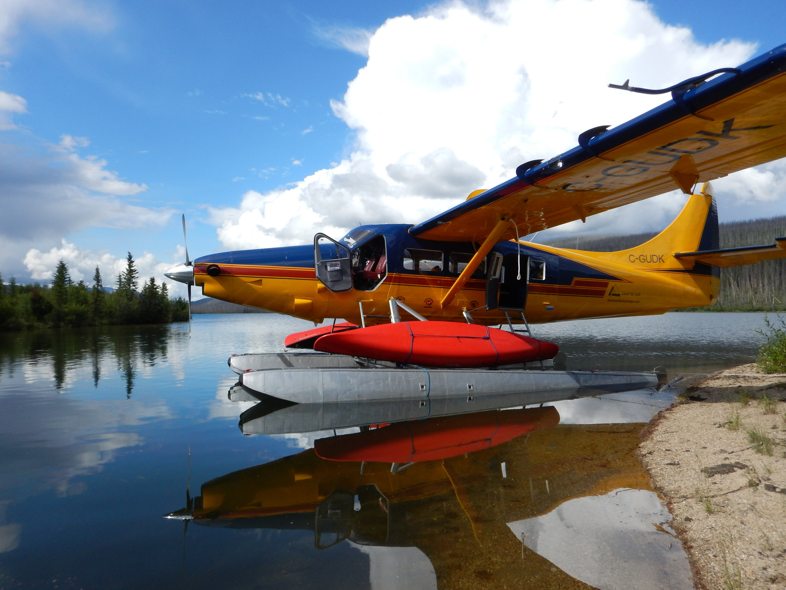 CANOEING AND WILDERNESS ADVENTURES: - Liard Tours provides air transportation for fly-in canoe and hiking trips. We also offer return shuttle van pickup from and to the Northern Rockies Lodge on the Alaska Highway.