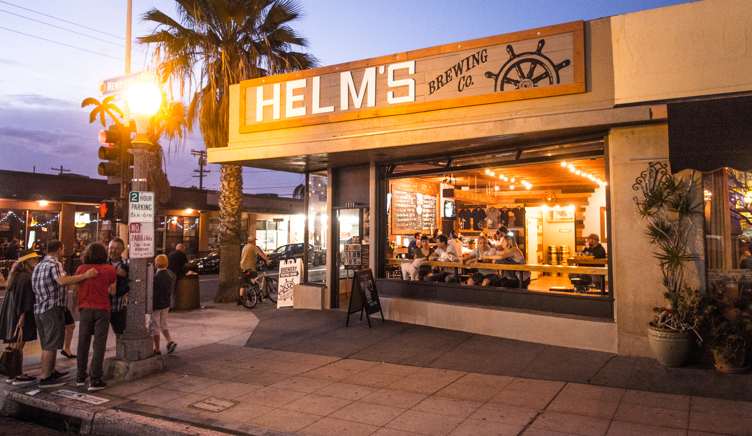 Helms Brewing Company Tasting Room, Ocean Beach