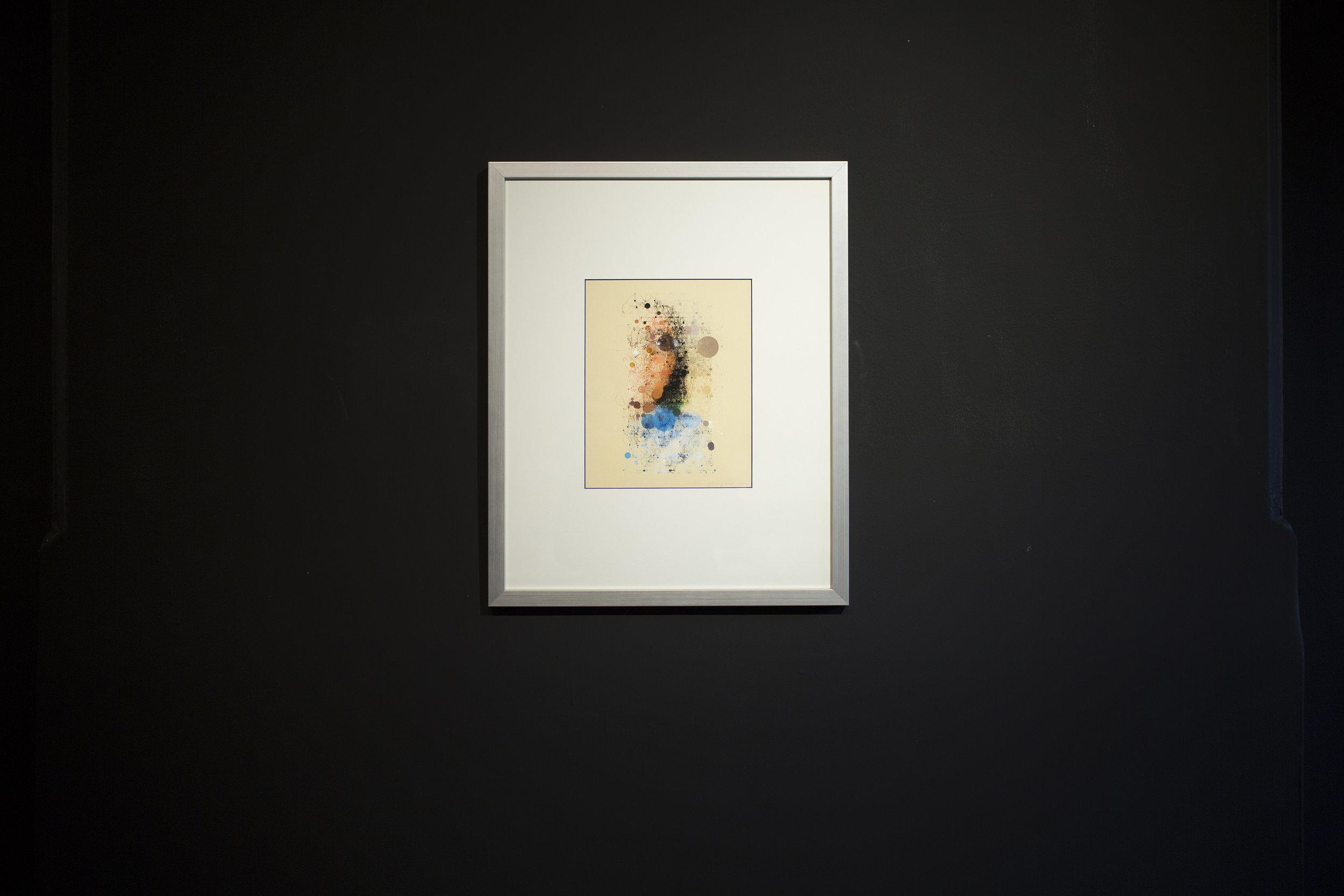 Random Walker,  10 x 8 inch w/o frame, archival print on Epson Ultra-smooth fine art paper.    随机漫步者   , 收藏级数码微喷   , 25.4 x 20.3 cm without frame    Frame  sponsed by Cloud Print