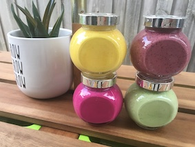 Turmeric, blueberries, beetroot and spinach make wonderful natural food dyes!